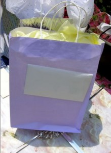 wedding friendship bag