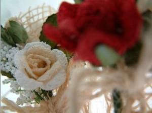 synthetic wedding flowers