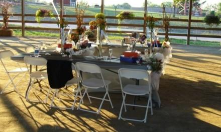Outdoor Wedding Reception Activities
