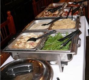 Buffet Table Wedding Activities