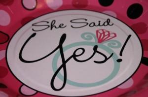 wedding engagement announcement