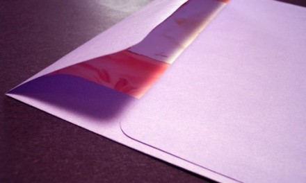 Much Ado About Wedding Envelopes