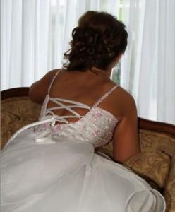 wedding hairdo
