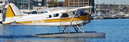 For a Truly Unusual Houseboat Wedding and Honeymoon, Fly Everyone In on Seaplanes!