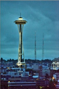 seattle space needle wedding