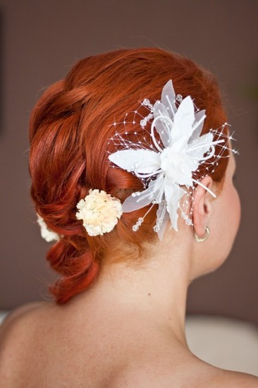 diy wedding hairstyle